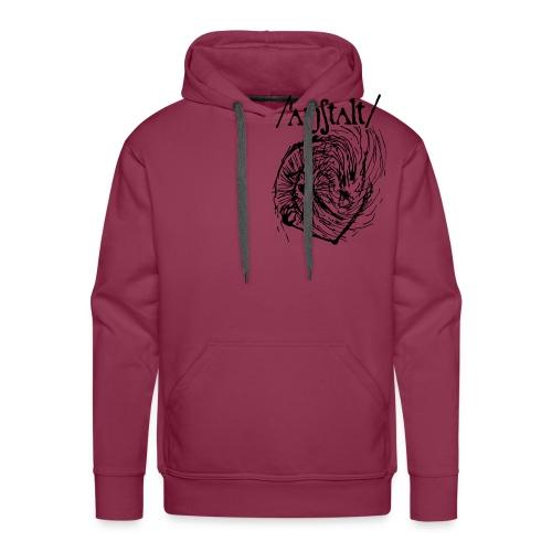 logo mit wesen (schwarz) - Männer Premium Hoodie