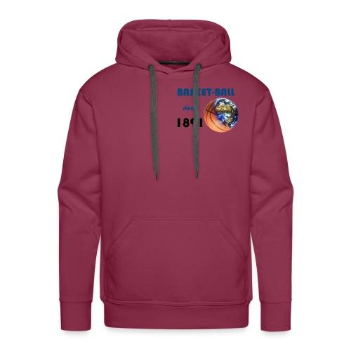terre basket - Sweat-shirt à capuche Premium pour hommes