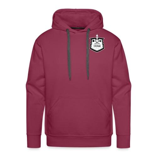 Logo MDL Lycée Louis Armand Noir et Blanc - Sweat-shirt à capuche Premium pour hommes
