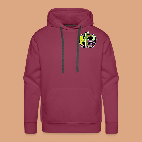 PG Mela Logo - Felpa con cappuccio premium da uomo