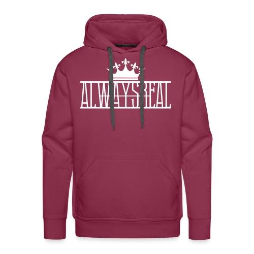 AlwaysReal Weiss - Männer Premium Hoodie