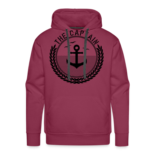 The Captain - Anchor - Männer Premium Hoodie