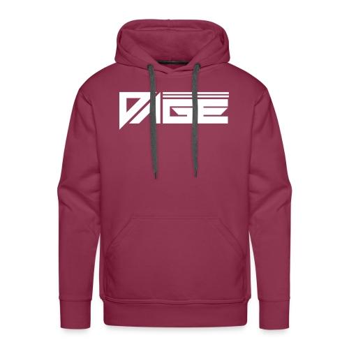 DAGE White - Männer Premium Hoodie