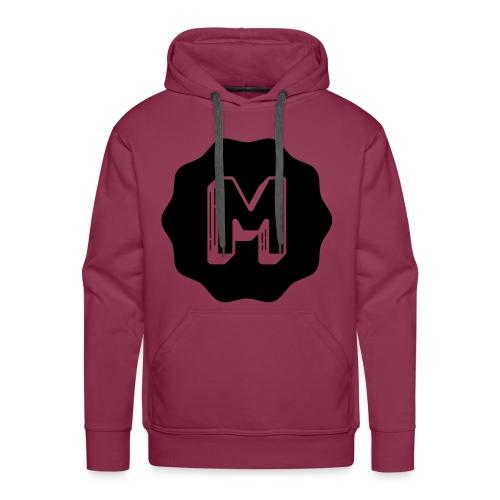 Messiosen symbol sort - Premium hettegenser for menn