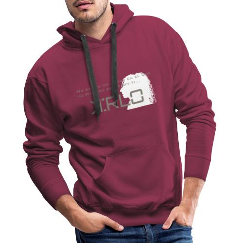 Camisetas Kirlo Sin Ti - Sudadera con capucha premium para hombre