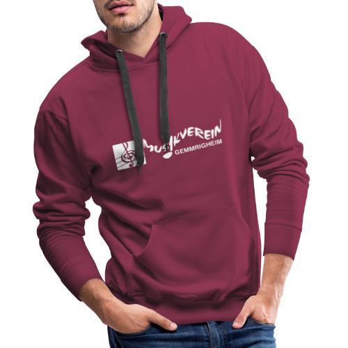 MVG Logo weiß - Männer Premium Hoodie
