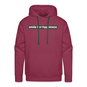 smile for happiness - Premiumluvtröja herr