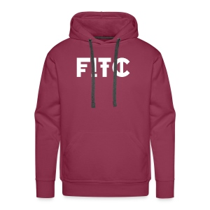 Fire In The City Logo - Men's Premium Hoodie