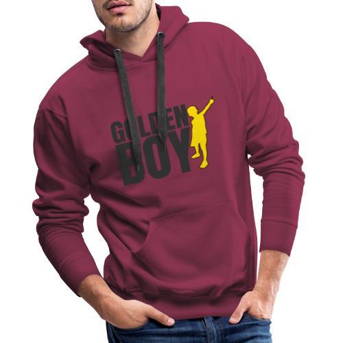 Golde Boy - Felpa con cappuccio premium da uomo