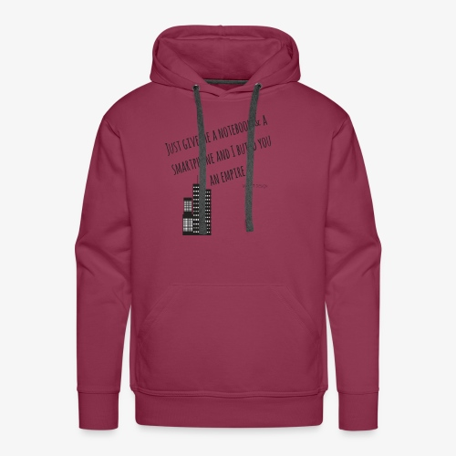 EMPIRE - Hustle Fashion by AMTDesign - Männer Premium Hoodie