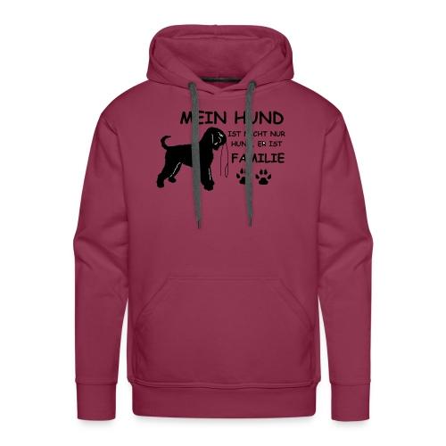 Mein_Hund_ist_Familie - Männer Premium Hoodie