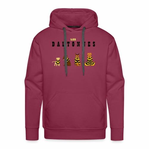 Les Daltonnes - Sweat-shirt à capuche Premium pour hommes