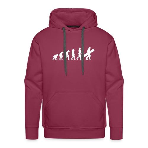 snow evolution - Sudadera con capucha premium para hombre