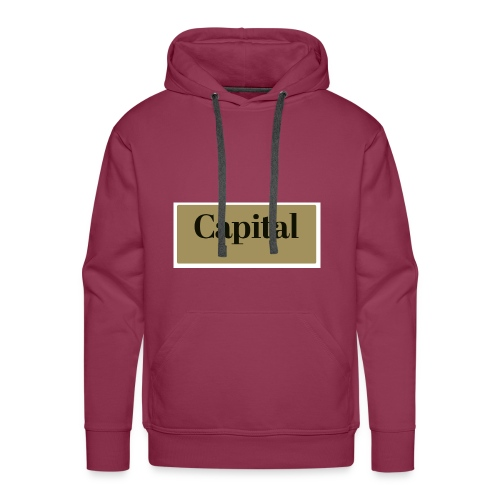 1200px Capital Logo - Männer Premium Hoodie