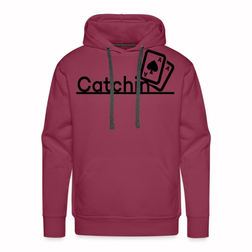 Catchin DoubleCards - Mannen Premium hoodie