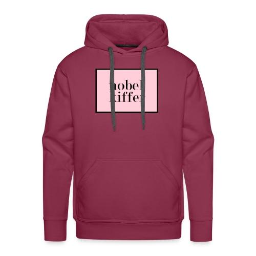 Nobelkiffer Logo rosa - Männer Premium Hoodie
