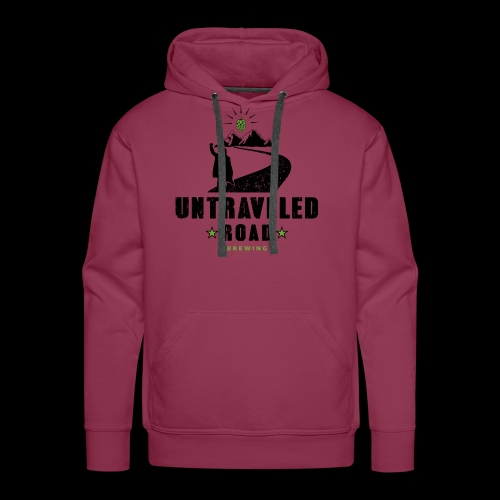 Untraveled Road Logo - black/small - Männer Premium Hoodie