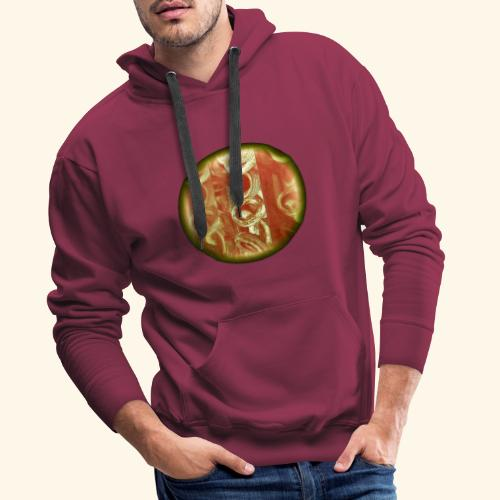 tire fire Eclipse totale - Sweat-shirt à capuche Premium pour hommes