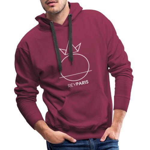 REYPARIS WHITE - Sweat-shirt à capuche Premium pour hommes