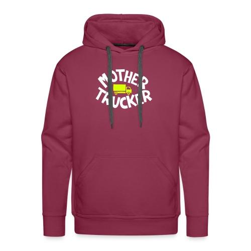 Mother Trucker - Sweat-shirt à capuche Premium pour hommes