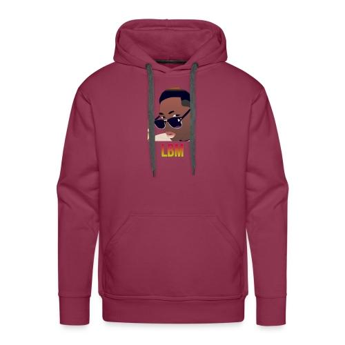 Logo et écriture Lbm - Sweat-shirt à capuche Premium pour hommes