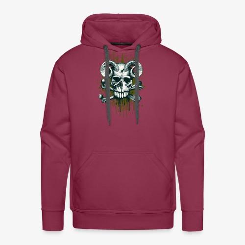 Skullz - Bluza męska Premium z kapturem