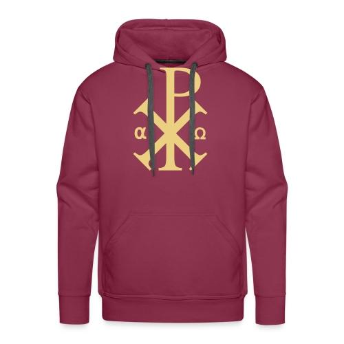 Alpha et Oméga - Jésus Christ - Sweat-shirt à capuche Premium pour hommes