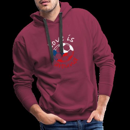 libaCZECHflag - Men's Premium Hoodie