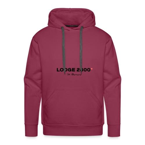Lodge 2800 - Sweat-shirt à capuche Premium pour hommes