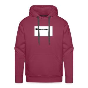 Dhoopiepower - Mannen Premium hoodie
