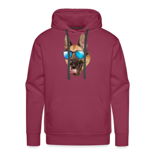 trimgermanshepherd - Sudadera con capucha premium para hombre