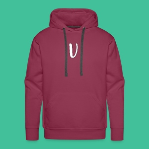 Velosity V Icon - T-Shirt Washed Burgundy Clr - Men's Premium Hoodie