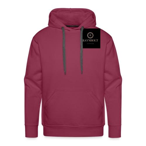 Ravnholt Shopping Logo - Herre Premium hættetrøje