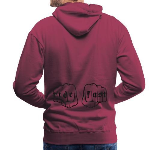 Ride fast puño - Sudadera con capucha premium para hombre
