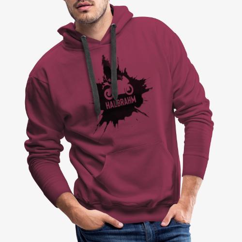 HalbRahm Logo - Männer Premium Hoodie