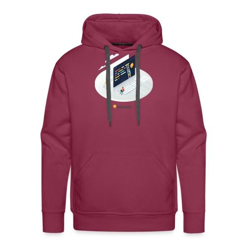 Createur - Sweat-shirt à capuche Premium pour hommes