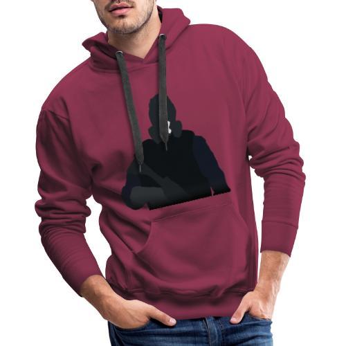 Mute - Bluza męska Premium z kapturem