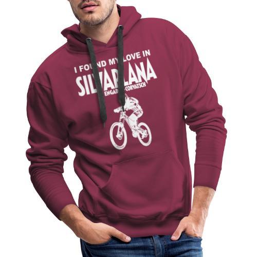 I found my love in Silvaplana, Mountainbiking - Männer Premium Hoodie
