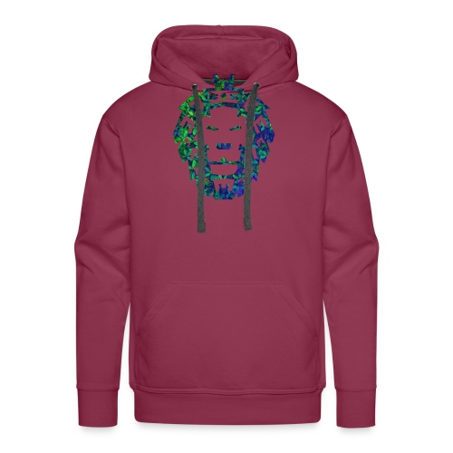Löwen Kopf - Männer Premium Hoodie