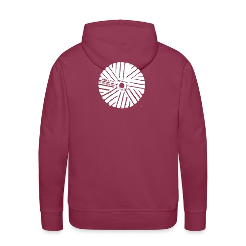 White chest logo sweat - Men's Premium Hoodie