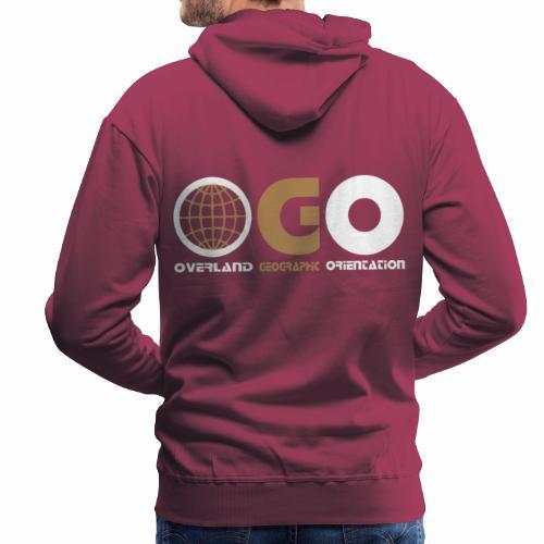 OGO-19 - Sweat-shirt à capuche Premium pour hommes