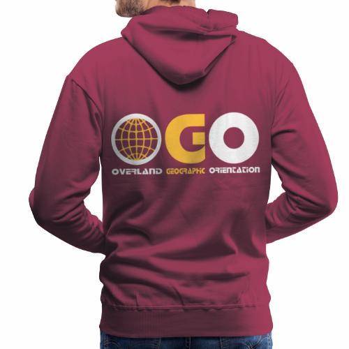 OGO-16 - Sweat-shirt à capuche Premium pour hommes