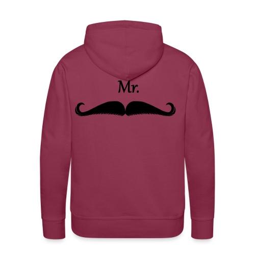 Mr - Sweat-shirt à capuche Premium pour hommes