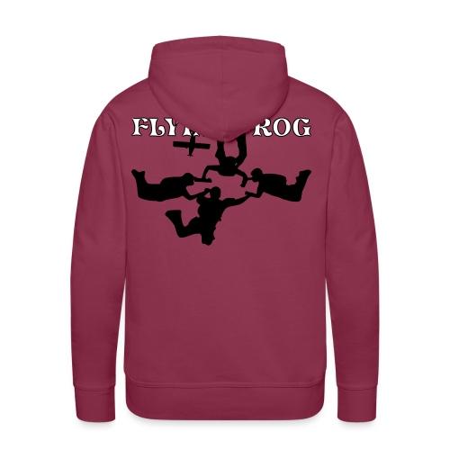 vrlettragepilatus - Sweat-shirt à capuche Premium pour hommes