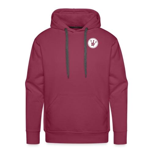 Couronne Blanche - Sweat-shirt à capuche Premium pour hommes