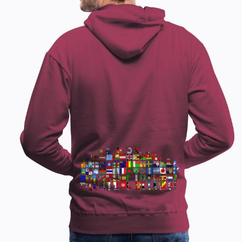 all the world - Men's Premium Hoodie