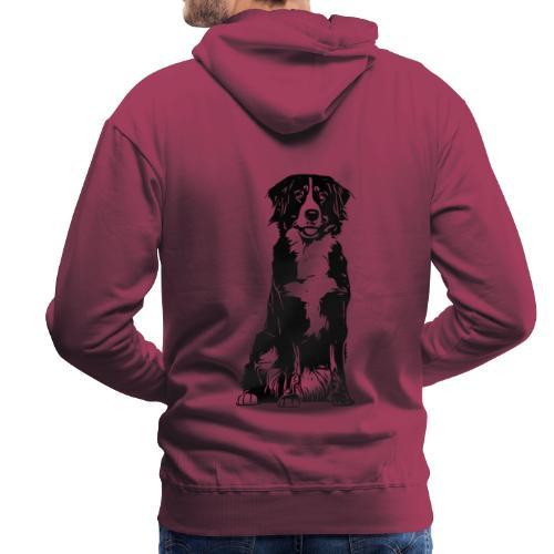 Berner Sennenhund Hunde Design Geschenkidee - Männer Premium Hoodie