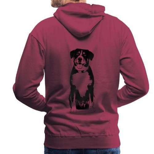 Entlebucher Sennenhund Hunde Design Geschenkidee - Männer Premium Hoodie