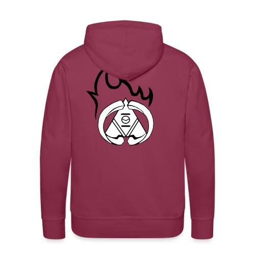 Vici Feu - Sweat-shirt à capuche Premium pour hommes