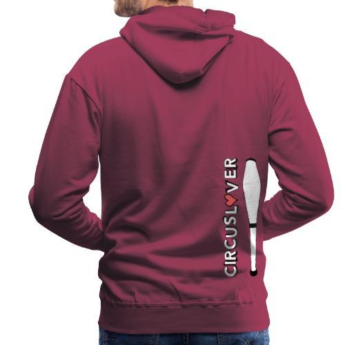 CIRCUSLOVER -JUGGLING CLUBS - CIRCUS JUGGLER - Felpa con cappuccio premium da uomo